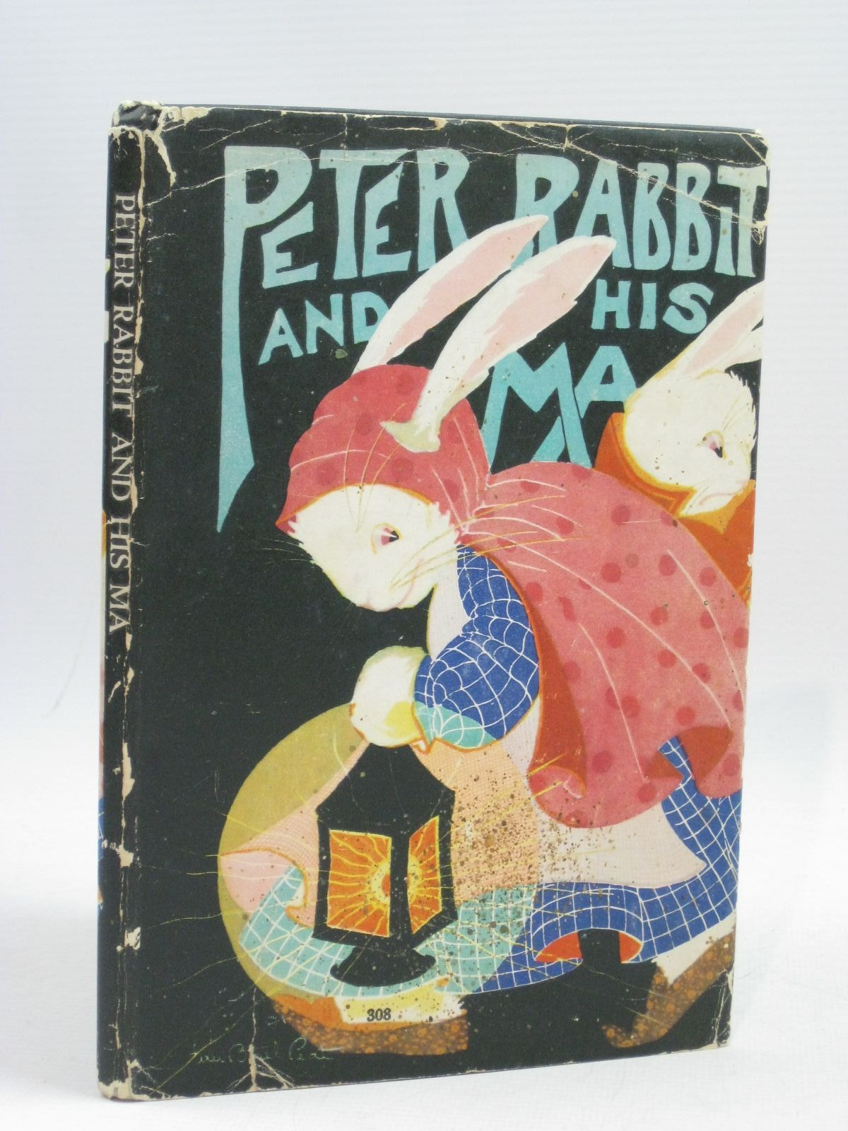 Photo of PETER RABBIT AND HIS MA written by Field, Louise A. illustrated by Albert, Virginia published by The Saalfield Publishing Company (STOCK CODE: 1315230)  for sale by Stella & Rose's Books