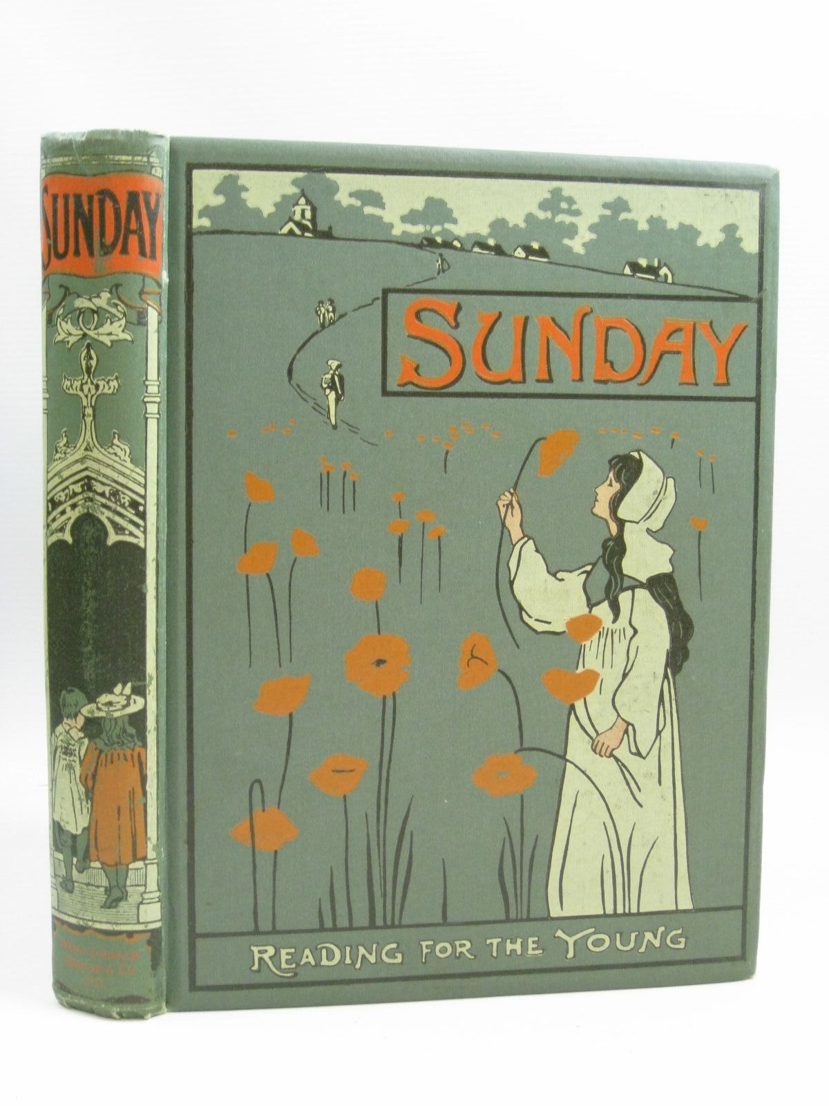 Photo of SUNDAY READING FOR THE YOUNG 1906 written by Marchant, Bessie<br />et al, illustrated by Browne, Gordon<br />Bedford, Francis D.<br />et al., published by Wells Gardner, Darton &amp; Co. Ltd. (STOCK CODE: 1315245)  for sale by Stella & Rose's Books