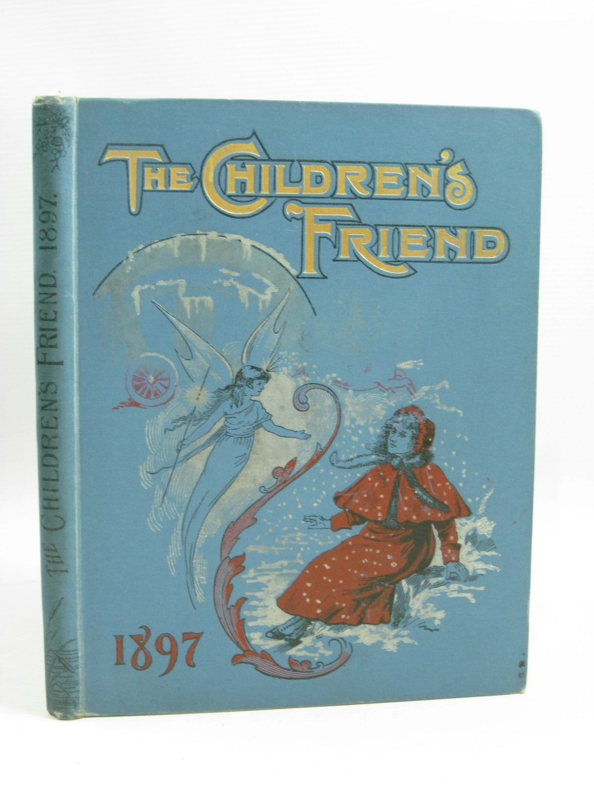 Photo of THE CHILDREN'S FRIEND 1897 written by Waterworth, E.M. Potter, F. Scarlett Chappell, Jennie et al,  illustrated by Wain, Louis Soper, George et al.,  published by S.W. Partridge & Co. (STOCK CODE: 1315266)  for sale by Stella & Rose's Books