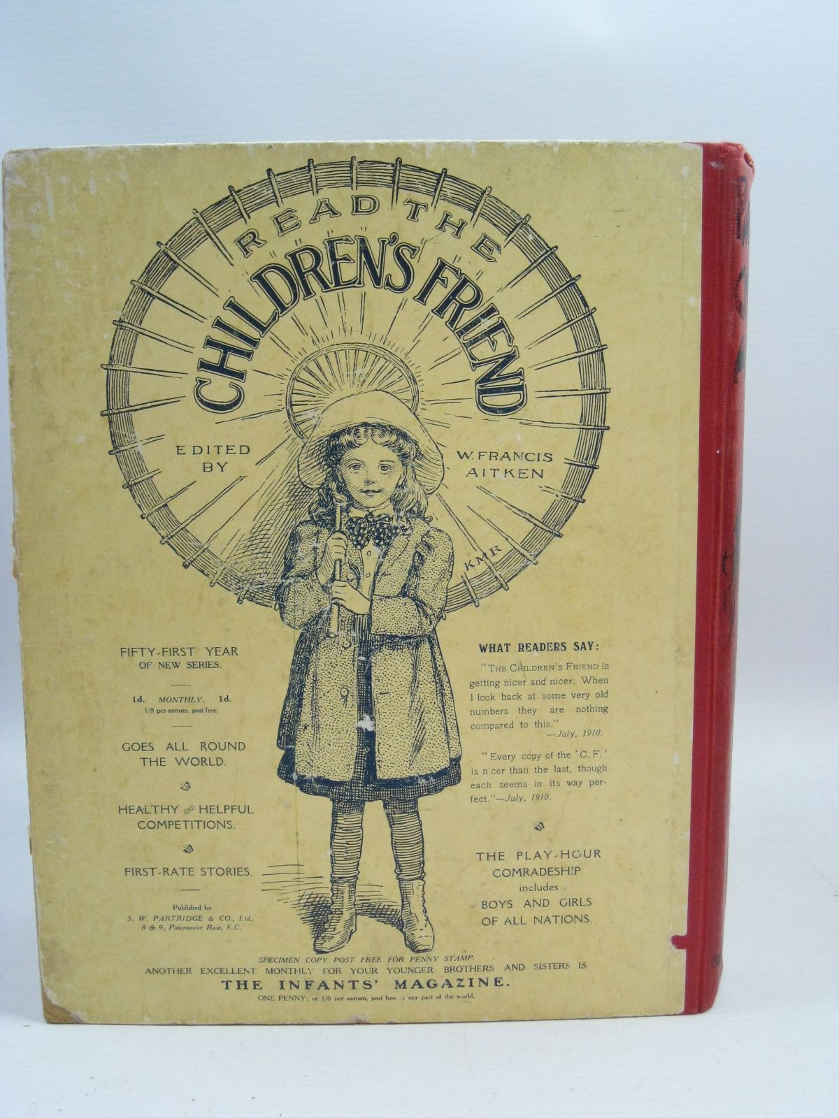 Photo of PARTRIDGE'S CHILDREN'S ANNUAL - 2ND YEAR written by Moore, Dorothea Everett-Green, Evelyn Girvin, Brenda et al, illustrated by Bowley, M. Marsh, H.G.C. Wain, Louis Neilson, Harry B. et al., published by S.W. Partridge & Co. Ltd. (STOCK CODE: 1315362)  for sale by Stella & Rose's Books