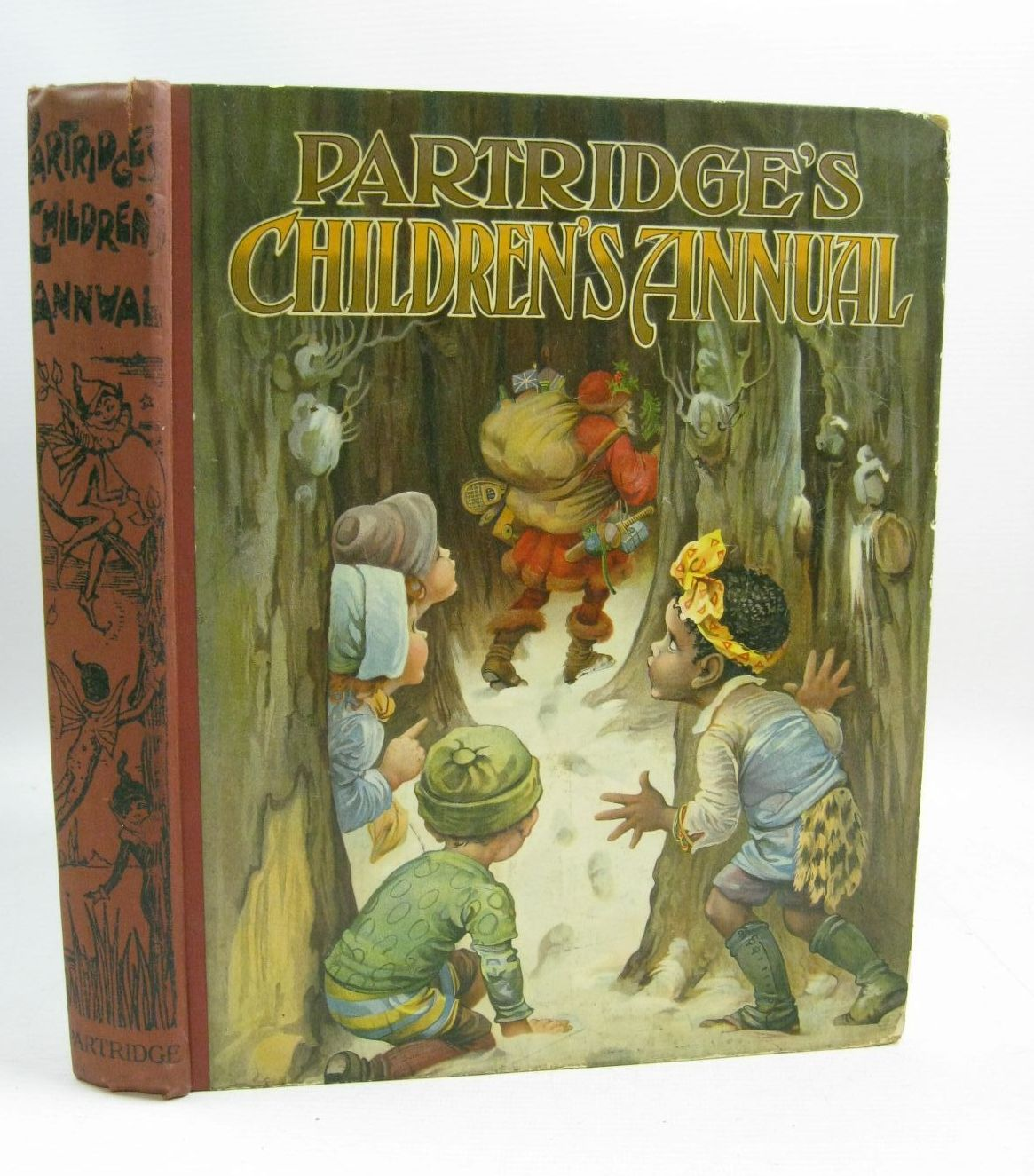 Photo of PARTRIDGE'S CHILDREN'S ANNUAL - 7TH YEAR written by Cash, Agness E. Lea, John Blomfield, Elsie et al, illustrated by Aris, Ernest A. Blomfield, Elsie Bowley, A.L. Cooke, Arthur Wain, Louis et al., published by S.W. Partridge & Co. Ltd. (STOCK CODE: 1315363)  for sale by Stella & Rose's Books