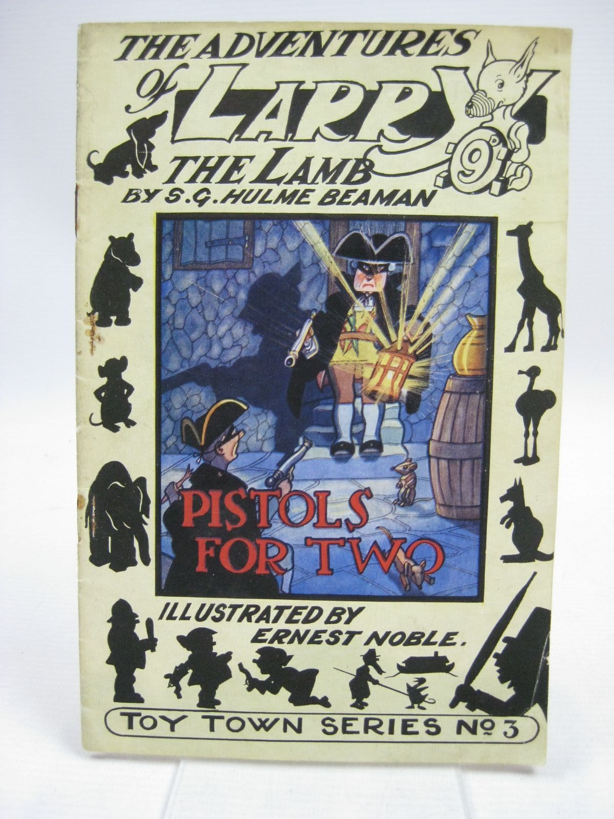 Photo of THE ADVENTURES OF LARRY THE LAMB - PISTOLS FOR TWO- Stock Number: 1315431