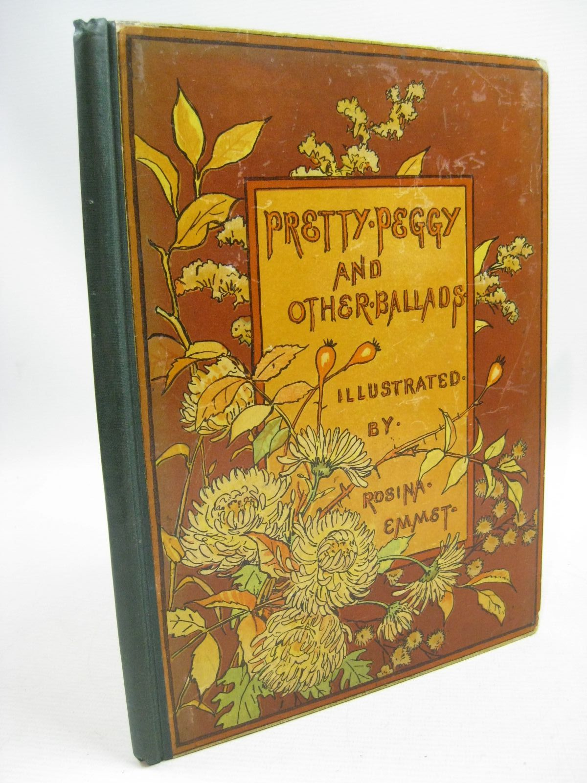 Photo of PRETTY PEGGY AND OTHER BALLADS illustrated by Emmet, Rosina published by Sampson Low, Marston, Searle, & Rivington (STOCK CODE: 1315449)  for sale by Stella & Rose's Books