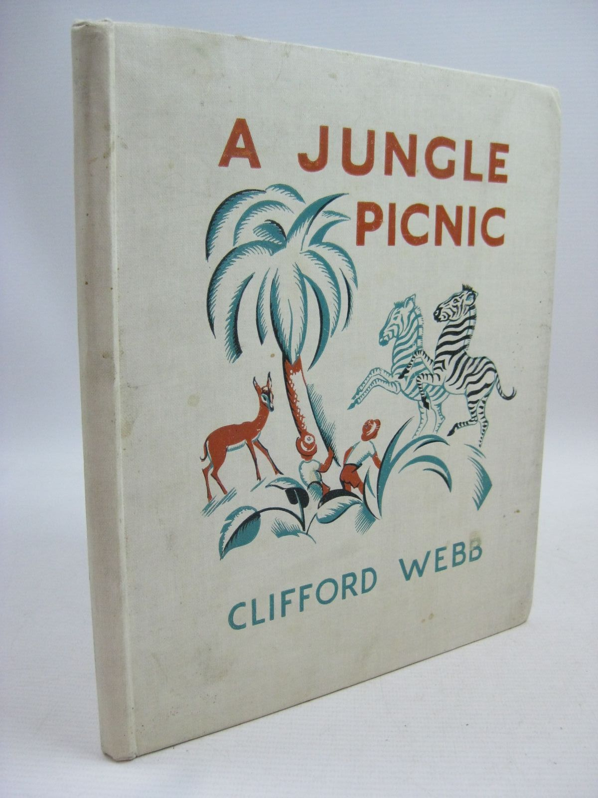 Photo of A JUNGLE PICNIC written by Webb, Clifford illustrated by Webb, Clifford published by Frederick Warne & Co Ltd. (STOCK CODE: 1315475)  for sale by Stella & Rose's Books