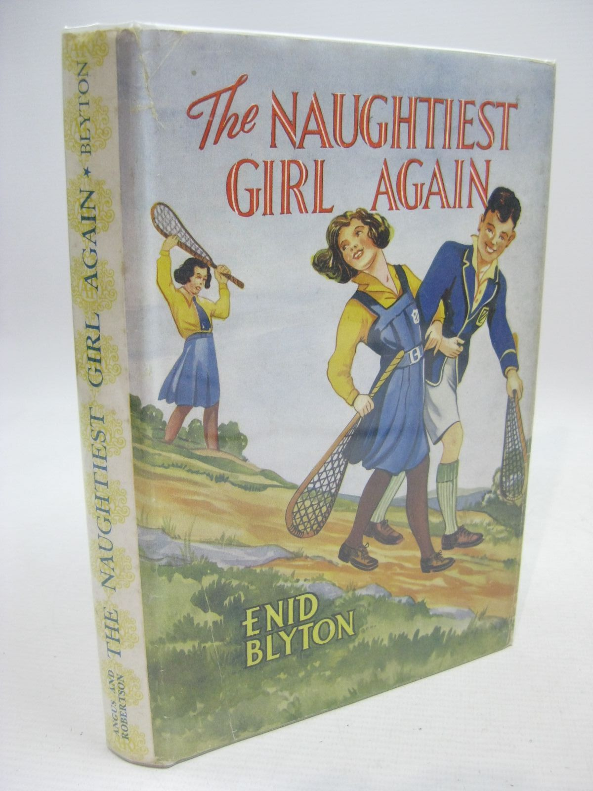 Photo of THE NAUGHTIEST GIRL AGAIN written by Blyton, Enid illustrated by Cable, W. Lindsay published by Angus & Robertson Ltd. (STOCK CODE: 1315509)  for sale by Stella & Rose's Books