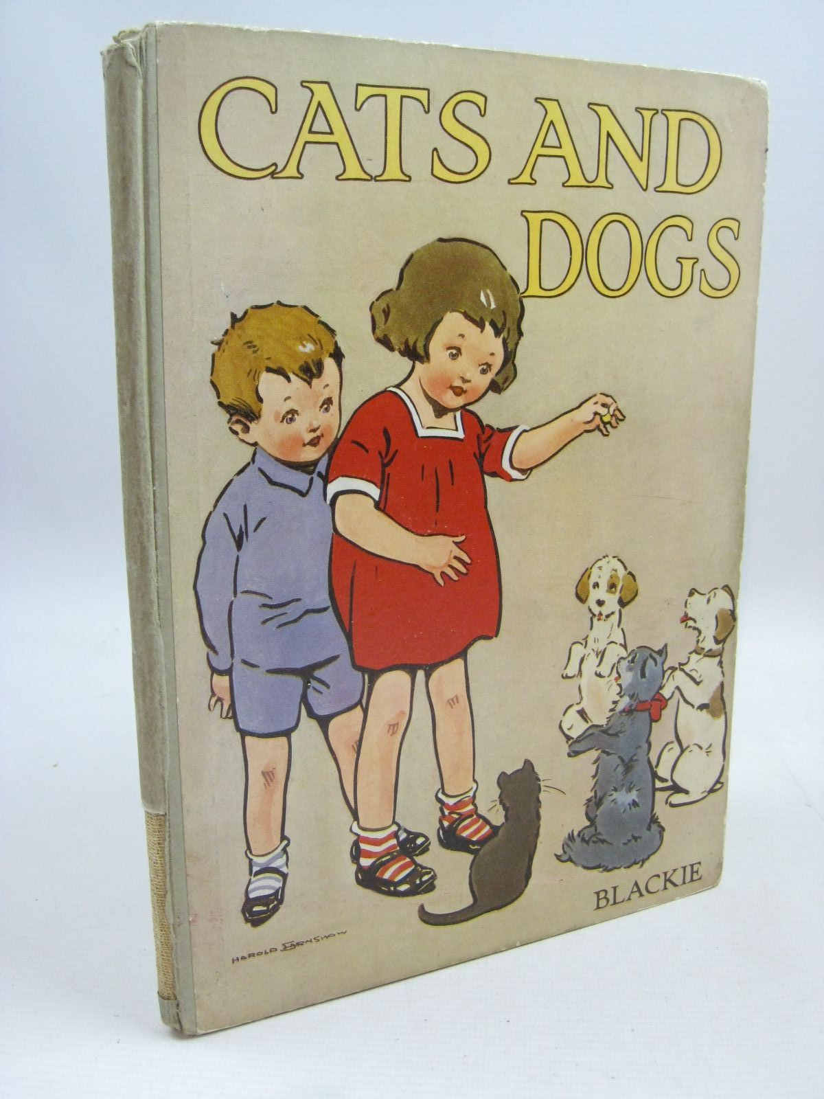 Photo of CATS AND DOGS FOR LITTLE FOLKS illustrated by Rackham, Arthur Aldin, Cecil Petherick, Rosa C. Goss, G.W. et al., published by Blackie And Son Limited (STOCK CODE: 1315538)  for sale by Stella & Rose's Books
