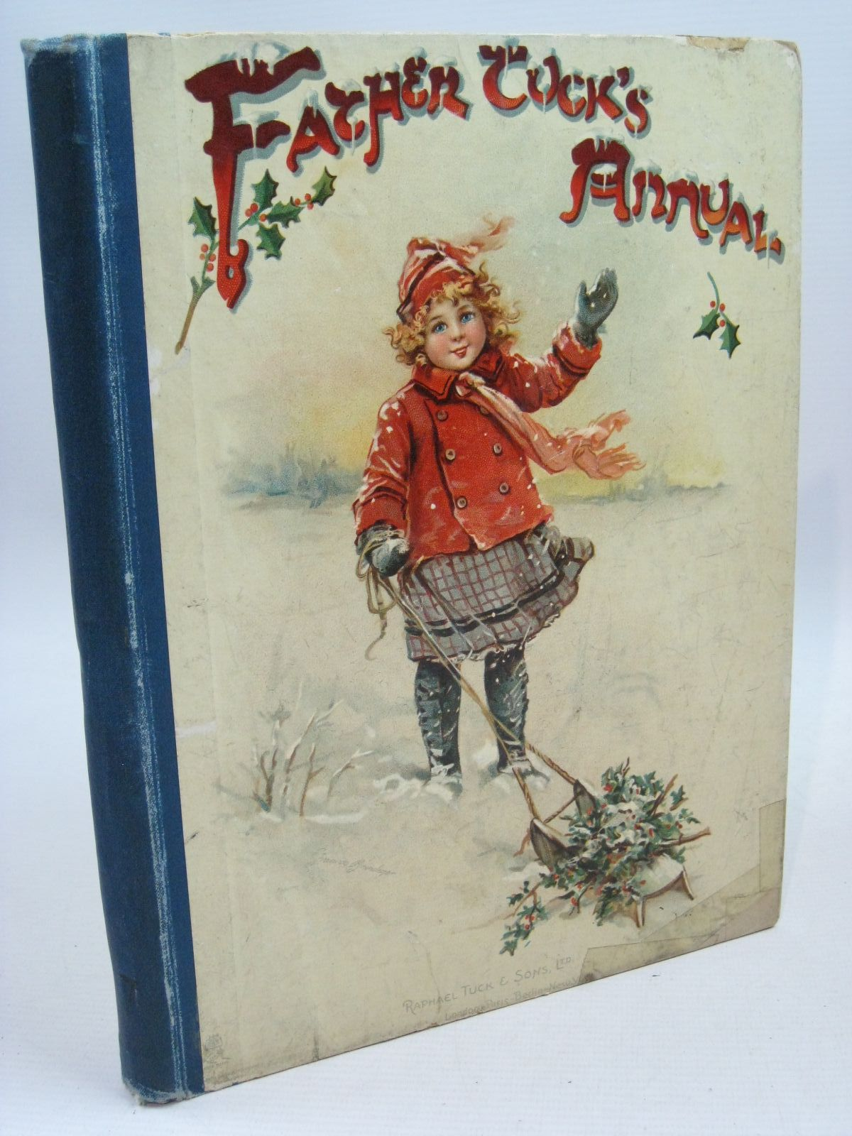 Photo of FATHER TUCK'S ANNUAL - 7TH YEAR written by Chesson, Nora Burnside, Helen Marion et al,  illustrated by Attwell, Mabel Lucie Cowham, Hilda Bowley, M. published by Raphael Tuck & Sons Ltd. (STOCK CODE: 1315555)  for sale by Stella & Rose's Books