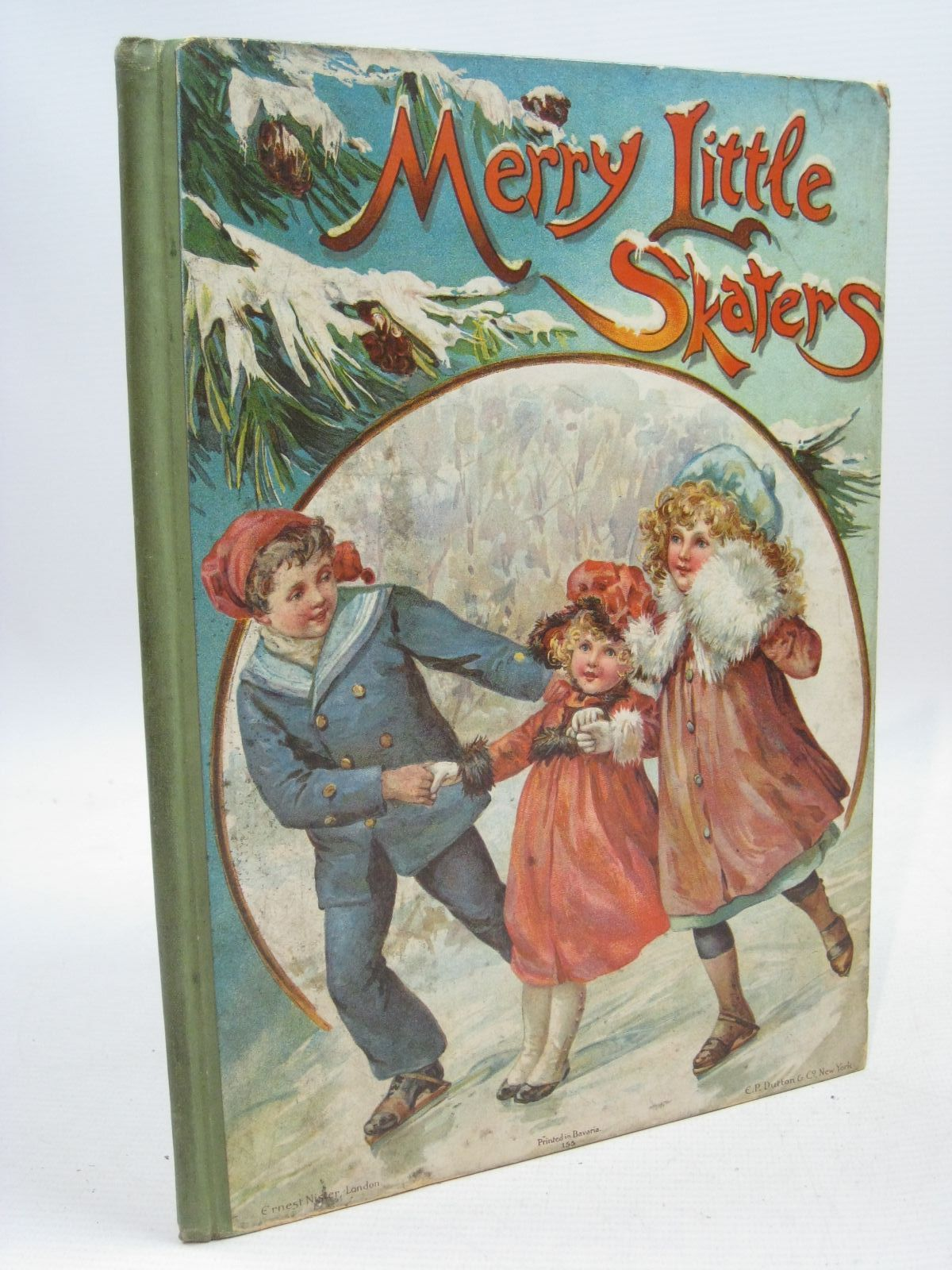 Photo of MERRY LITTLE SKATERS published by Ernest Nister (STOCK CODE: 1315565)  for sale by Stella & Rose's Books