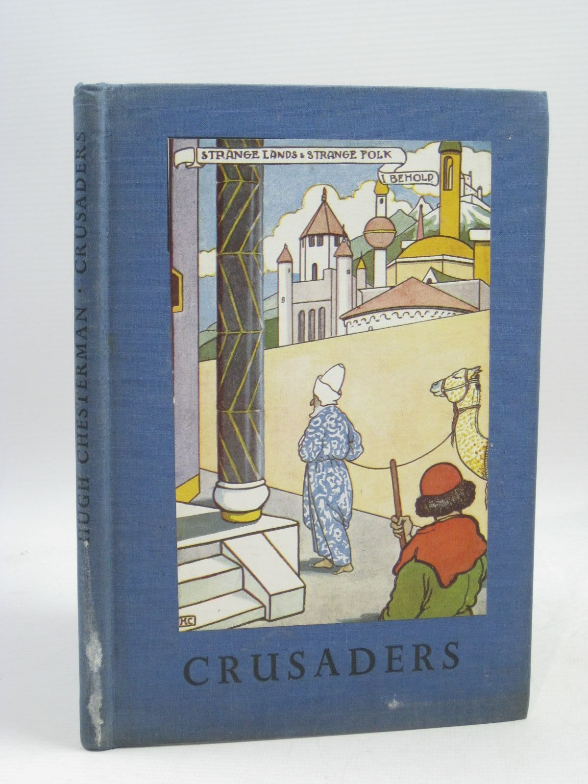 Photo of CRUSADERS written by Chesterman, Hugh De La Mare, Walter illustrated by Chesterman, Hugh published by Basil Blackwell (STOCK CODE: 1315571)  for sale by Stella & Rose's Books