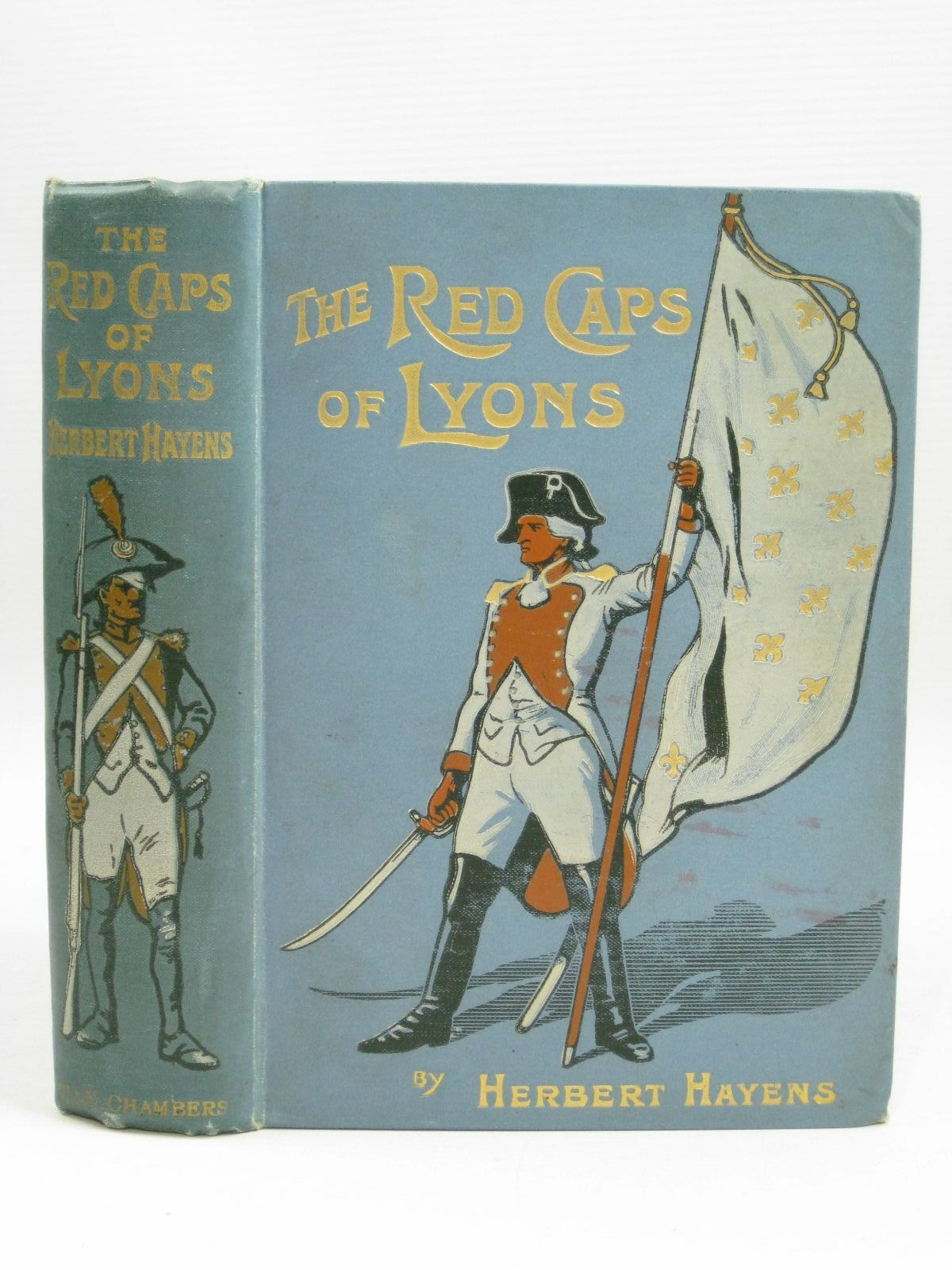 Photo of THE RED CAPS OF LYONS written by Hayens, Herbert illustrated by Edwards, Lionel published by W. & R. Chambers Limited (STOCK CODE: 1315572)  for sale by Stella & Rose's Books