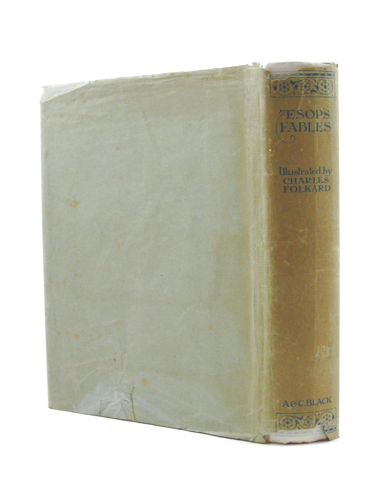 Photo of AESOP'S FABLES written by Aesop, illustrated by Folkard, Charles published by Adam & Charles Black (STOCK CODE: 1315584)  for sale by Stella & Rose's Books