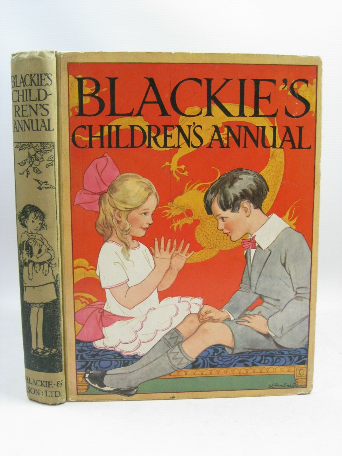 Photo of BLACKIE'S CHILDREN'S ANNUAL 21ST YEAR written by Wemyss, Mrs. George Barnes, Madeline Scott-Hopper, Queenie Pocock, Doris Talbot, Ethel et al,  illustrated by Hiley, Francis E. Brisley, Joyce Lankester Brisley, Nina K. Petherick, Rosa C. Aris, Ernest A. Barker, Cicely Mary et al.,  published by Blackie & Son Ltd. (STOCK CODE: 1315640)  for sale by Stella & Rose's Books