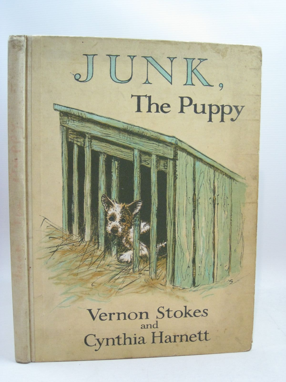 Photo of JUNK, THE PUPPY written by Stokes, Vernon Harnett, Cynthia illustrated by Stokes, Vernon Harnett, Cynthia published by Blackie & Son Ltd. (STOCK CODE: 1315705)  for sale by Stella & Rose's Books