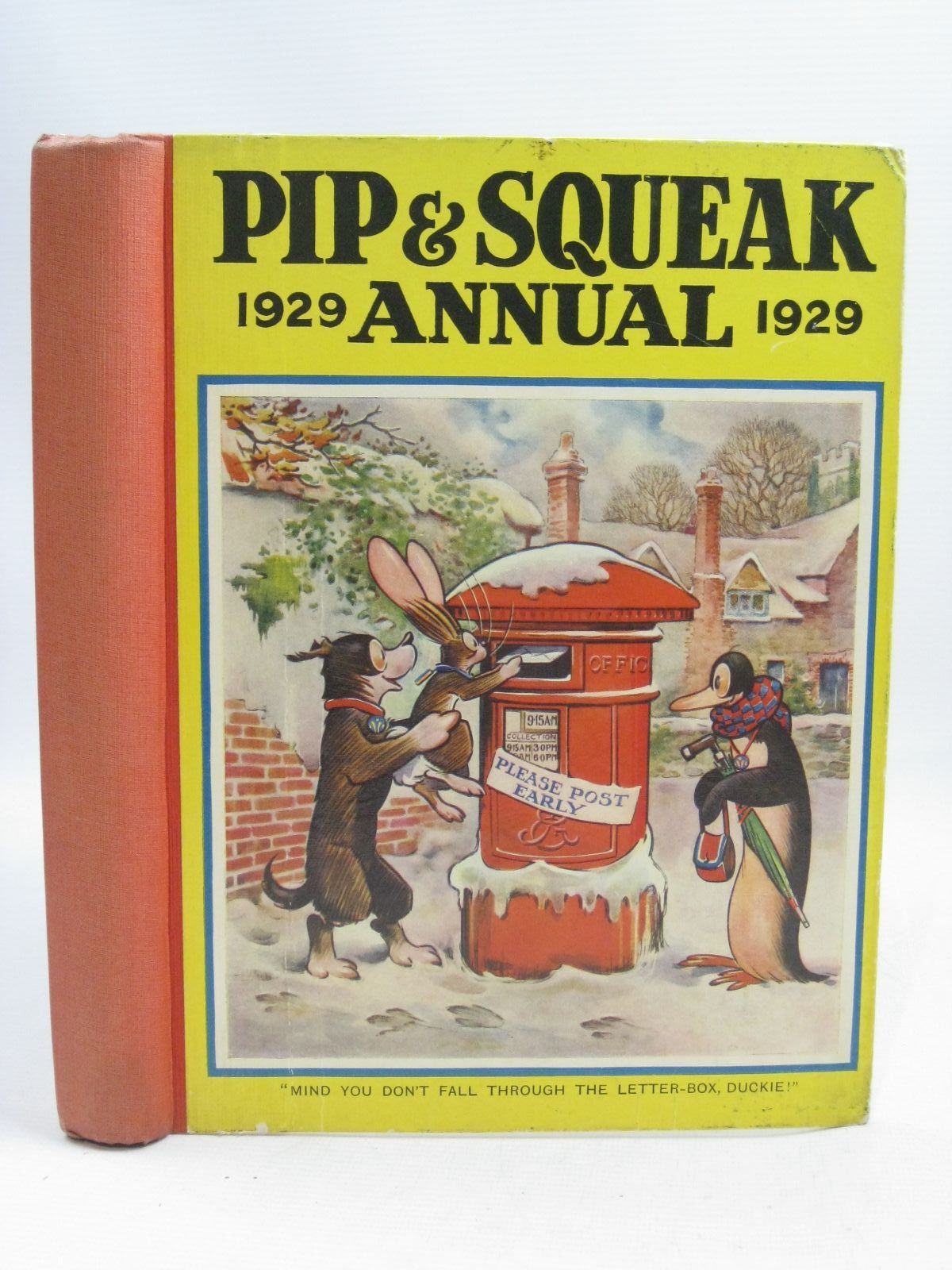 Photo of PIP & SQUEAK ANNUAL 1929 published by Daily Mirror (STOCK CODE: 1315728)  for sale by Stella & Rose's Books