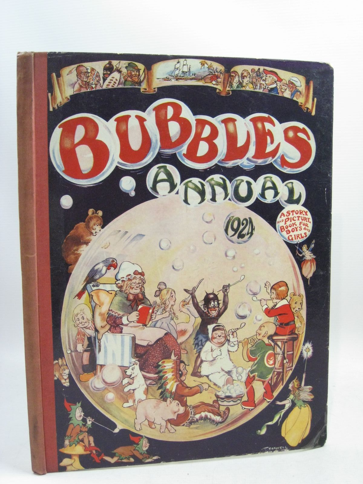 Photo of BUBBLES ANNUAL 1924- Stock Number: 1315755