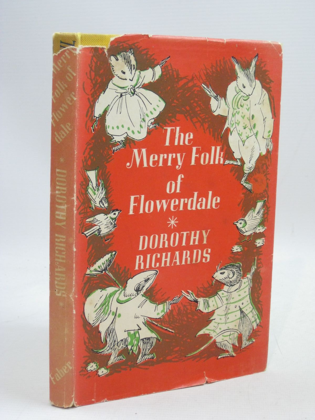 Photo of THE MERRY FOLK OF FLOWERDALE written by Richards, Dorothy illustrated by Thomas, Elsie published by Faber & Faber (STOCK CODE: 1315786)  for sale by Stella & Rose's Books