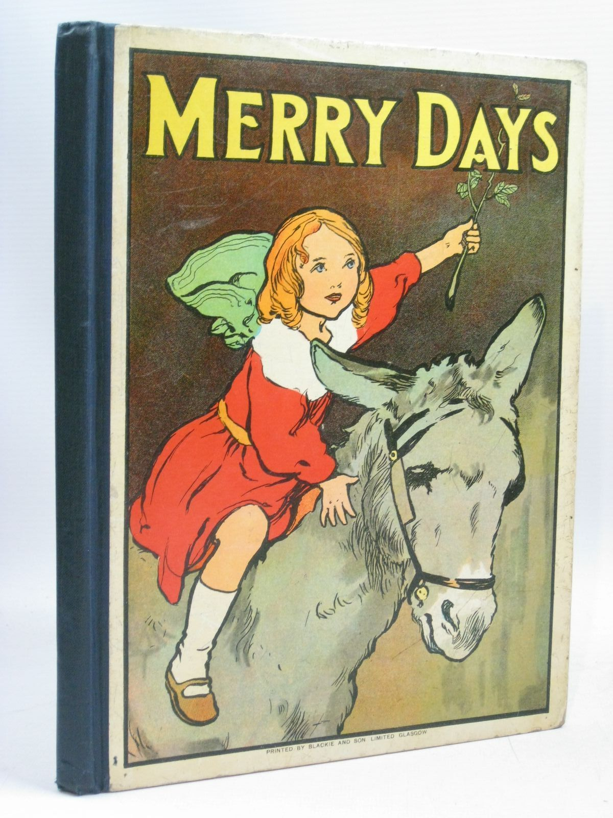 Photo of MERRY DAYS written by Marston, Ann<br />Herbertson, Agnes Grozier<br />et al, illustrated by Neilson, Harry<br />Aldin, Cecil<br />Wain, Louis<br />et al., published by Blackie &amp; Son Ltd. (STOCK CODE: 1315866)  for sale by Stella & Rose's Books