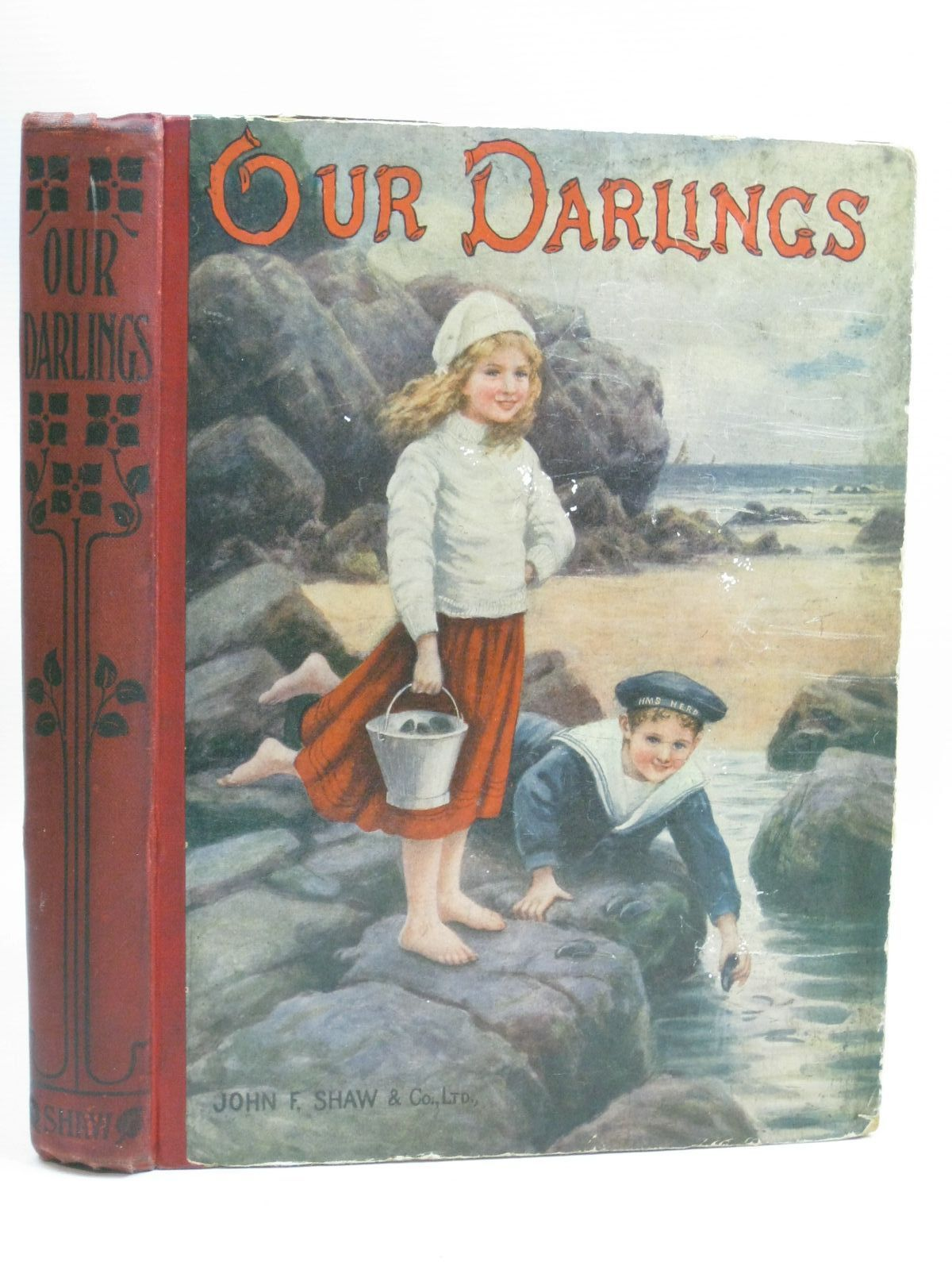 Photo of OUR DARLINGS written by Adams, W. Davenport Shaw, Catharine illustrated by Farmiloe, Edith Neilson, Harry B. Wain, Louis published by John F. Shaw (STOCK CODE: 1315885)  for sale by Stella & Rose's Books