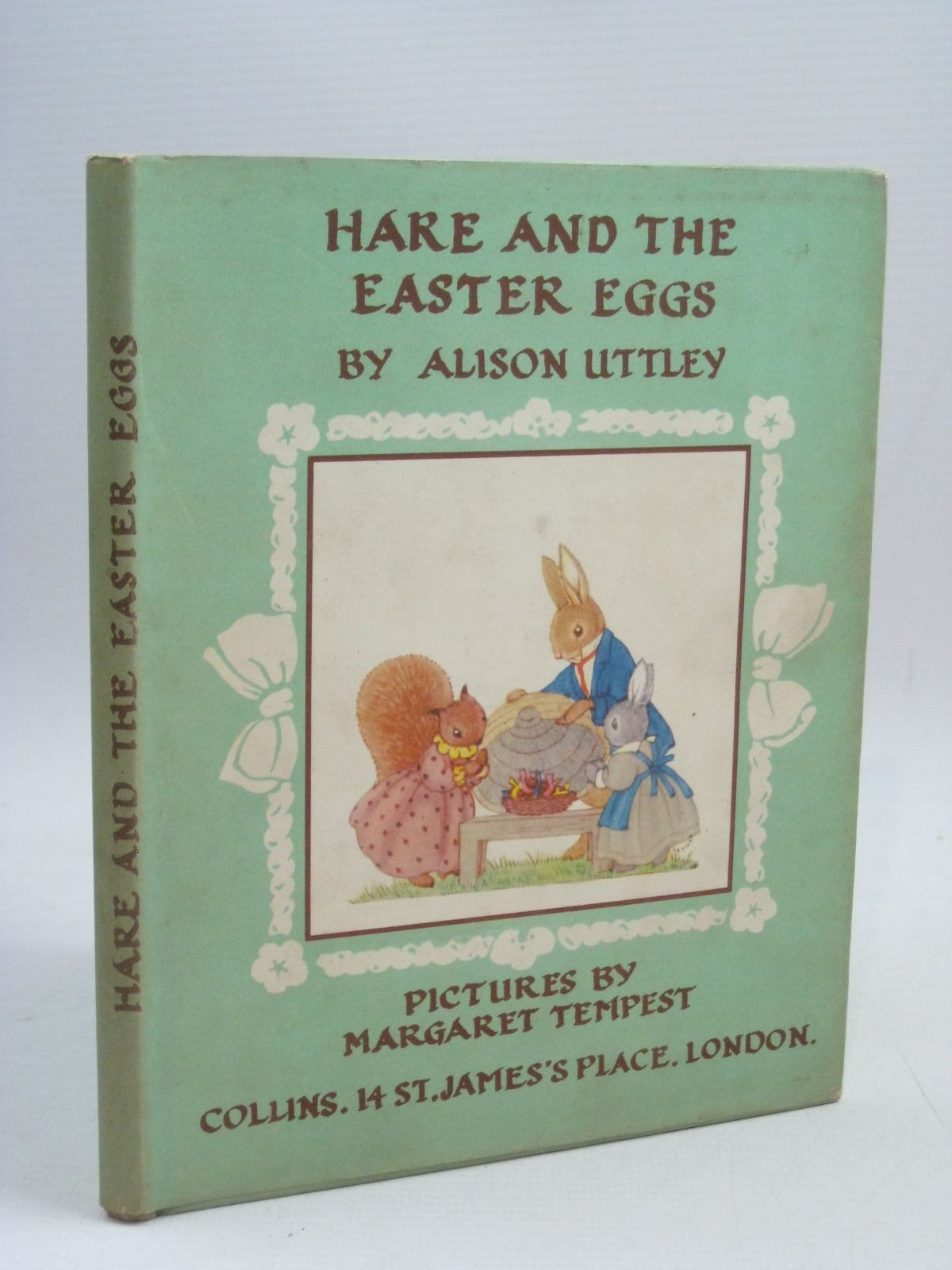 Photo of HARE AND THE EASTER EGGS written by Uttley, Alison illustrated by Tempest, Margaret published by Collins (STOCK CODE: 1315902)  for sale by Stella & Rose's Books