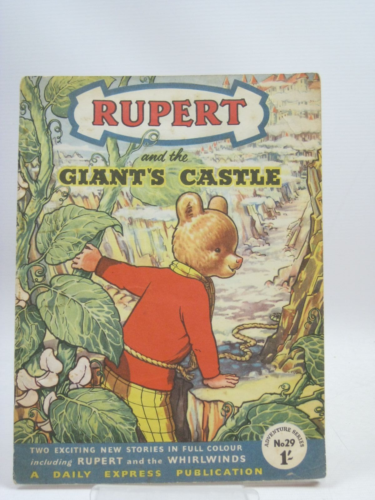 Photo of RUPERT ADVENTURE SERIES No. 29 - RUPERT AND THE GIANT'S CASTLE- Stock Number: 1315985