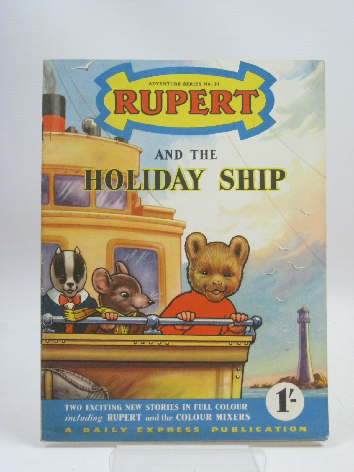 Photo of RUPERT ADVENTURE SERIES No. 22 - RUPERT AND THE HOLIDAY SHIP written by Bestall, Alfred published by Daily Express (STOCK CODE: 1315986)  for sale by Stella & Rose's Books