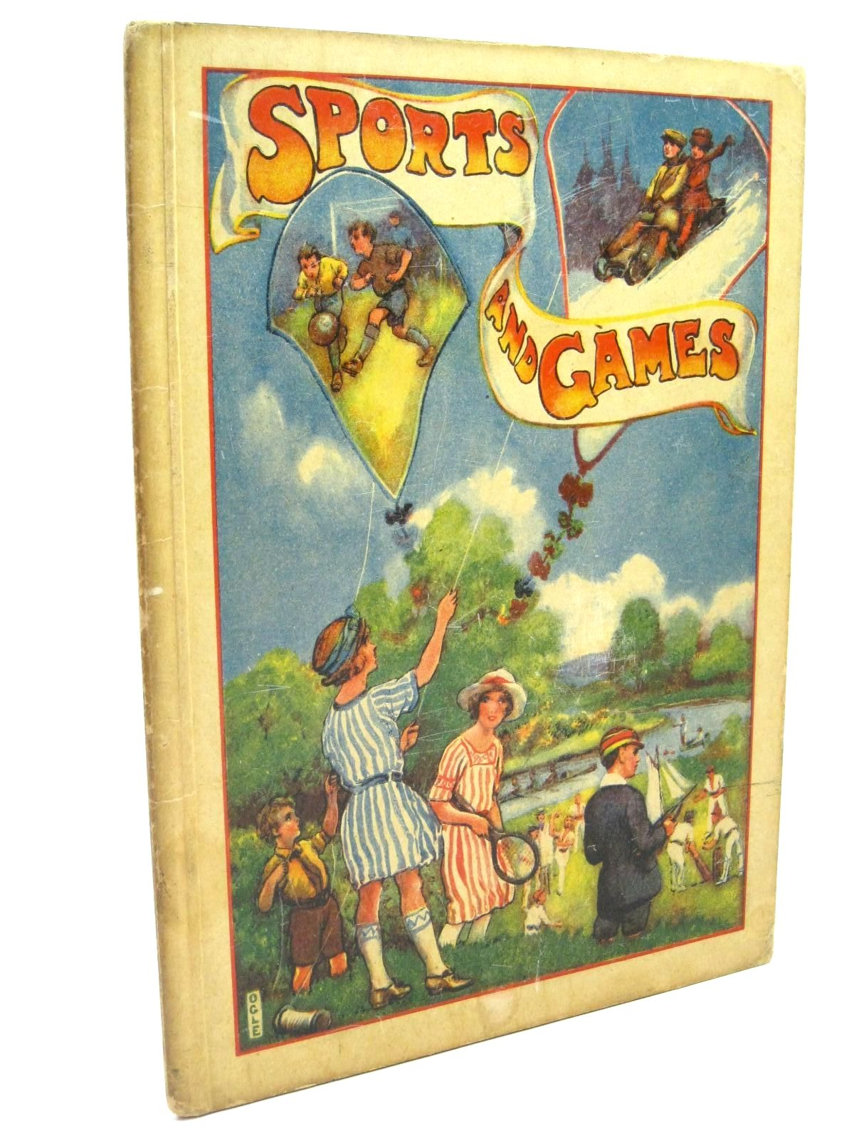 Photo of SPORTS AND GAMES written by Blyton, Enid illustrated by Ogle,  (STOCK CODE: 1316063)  for sale by Stella & Rose's Books