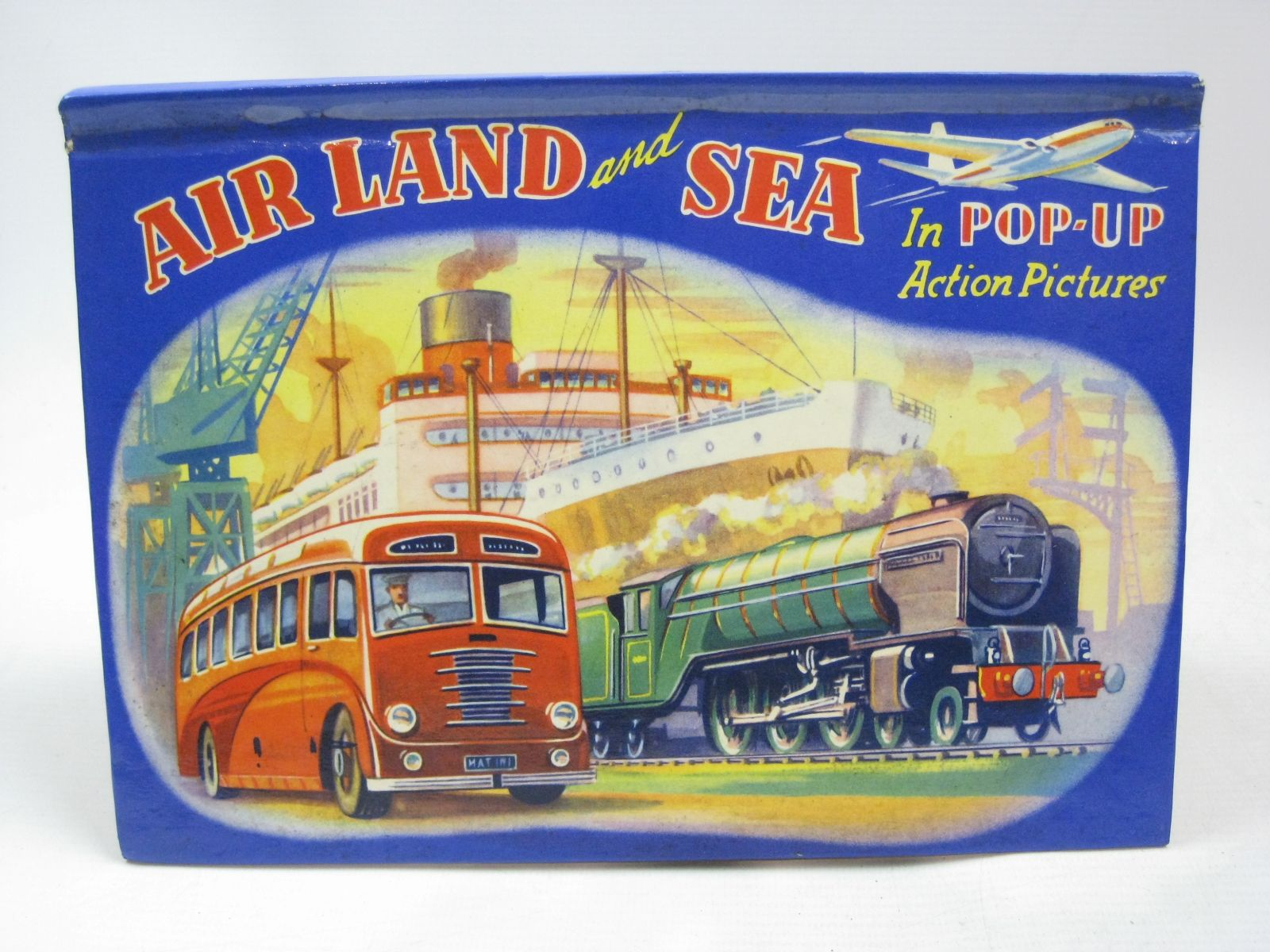 Photo of AIR LAND AND SEA IN POP-UP ACTION PICTURES published by Purnell & Sons, Ltd. (STOCK CODE: 1316148)  for sale by Stella & Rose's Books