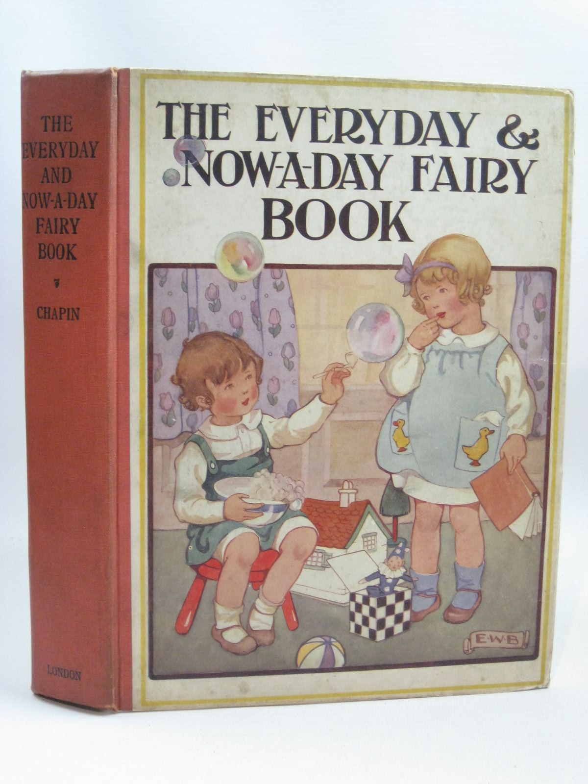 Photo of THE EVERYDAY AND NOW-A-DAY FAIRY BOOK written by Chapin, Anna Alice illustrated by Smith, Jessie Willcox published by J. Coker & Co. Ltd. (STOCK CODE: 1316196)  for sale by Stella & Rose's Books