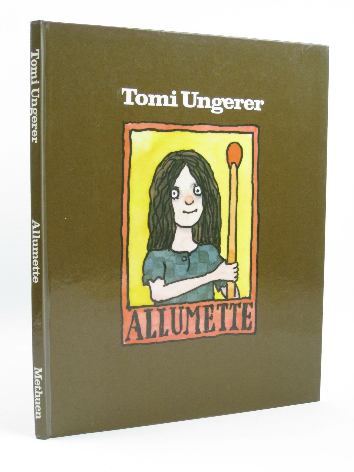 Photo of ALLUMETTE written by Ungerer, Tomi illustrated by Ungerer, Tomi published by Methuen Children's Books (STOCK CODE: 1316241)  for sale by Stella & Rose's Books