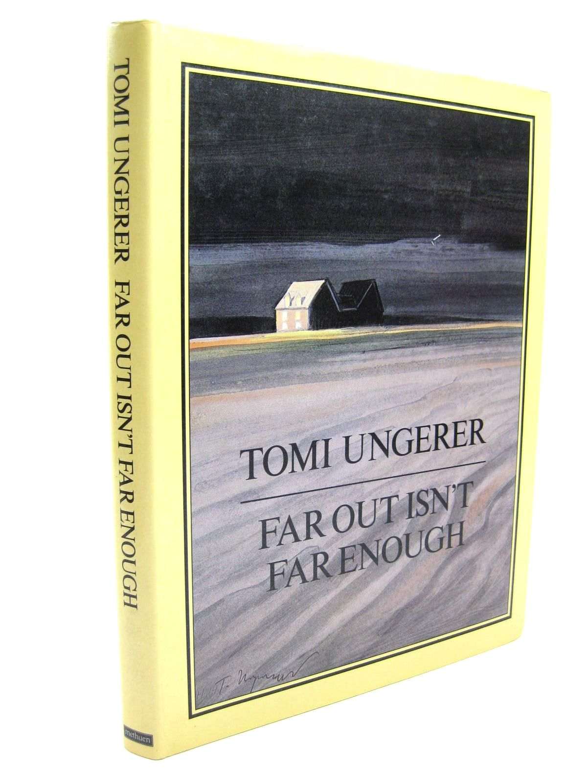 Photo of FAR OUT ISN'T FAR ENOUGH written by Ungerer, Tomi illustrated by Ungerer, Tomi published by Methuen London Ltd (STOCK CODE: 1316272)  for sale by Stella & Rose's Books