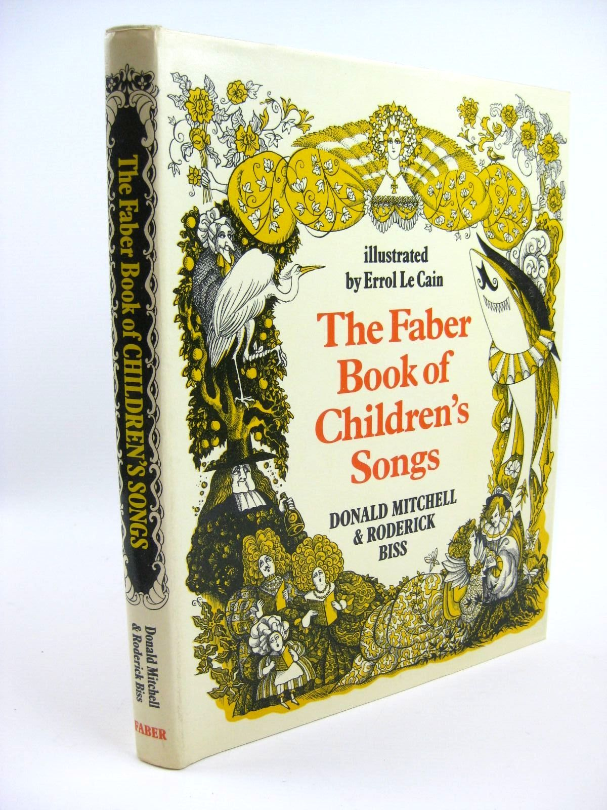 Photo of THE FABER BOOK OF CHILDREN'S SONGS written by Mitchell, Donald<br />Biss, Roderick illustrated by Le Cain, Errol published by Faber &amp; Faber (STOCK CODE: 1316274)  for sale by Stella & Rose's Books