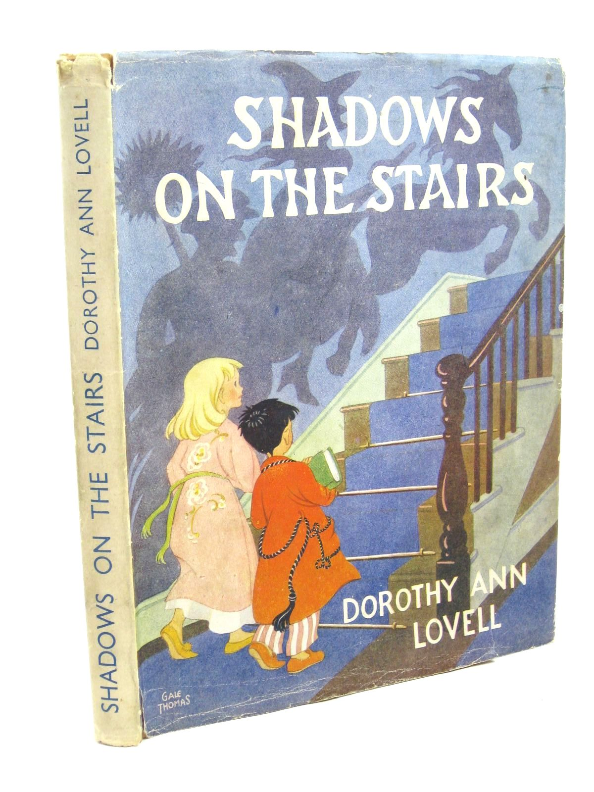 Photo of SHADOWS ON THE STAIRS written by Lovell, Dorothy Ann illustrated by Thomas, Gale<br />Robinson, Richard published by University of London Press Ltd. (STOCK CODE: 1316317)  for sale by Stella & Rose's Books