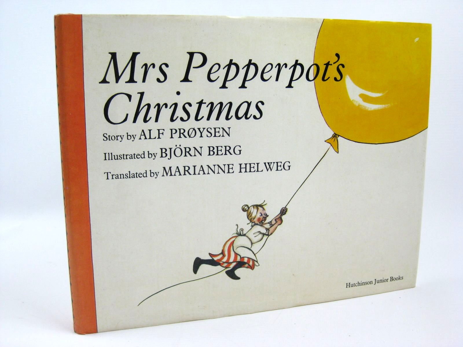 Photo of MRS PEPPERPOT'S CHRISTMAS written by Proysen, Alf Helweg, Marianne illustrated by Berg, Bjorn published by Hutchinson Junior Books (STOCK CODE: 1316325)  for sale by Stella & Rose's Books
