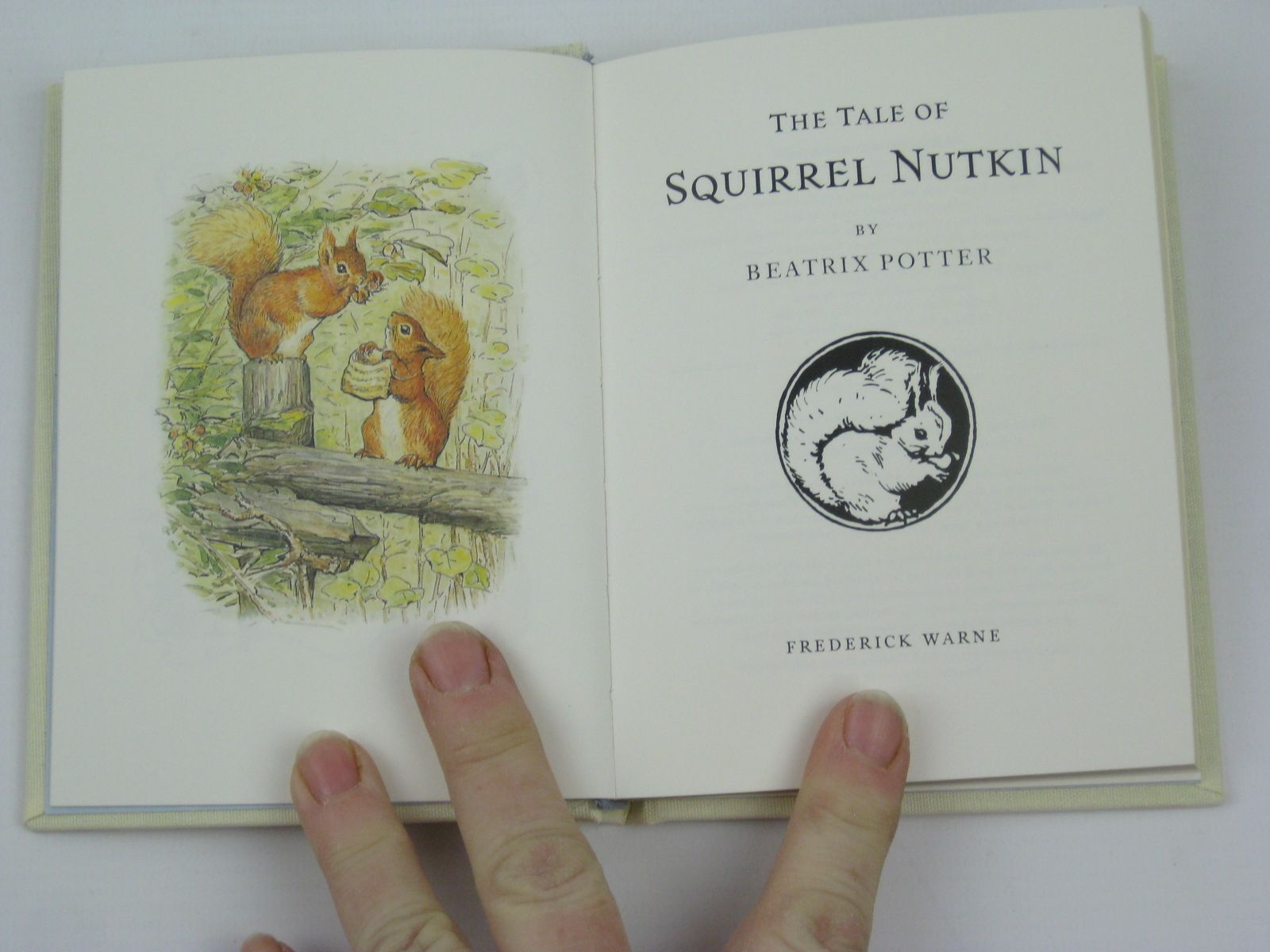 Photo of THE TALE OF SQUIRREL NUTKIN written by Potter, Beatrix illustrated by Potter, Beatrix published by Frederick Warne, The Penguin Group (STOCK CODE: 1316338)  for sale by Stella & Rose's Books