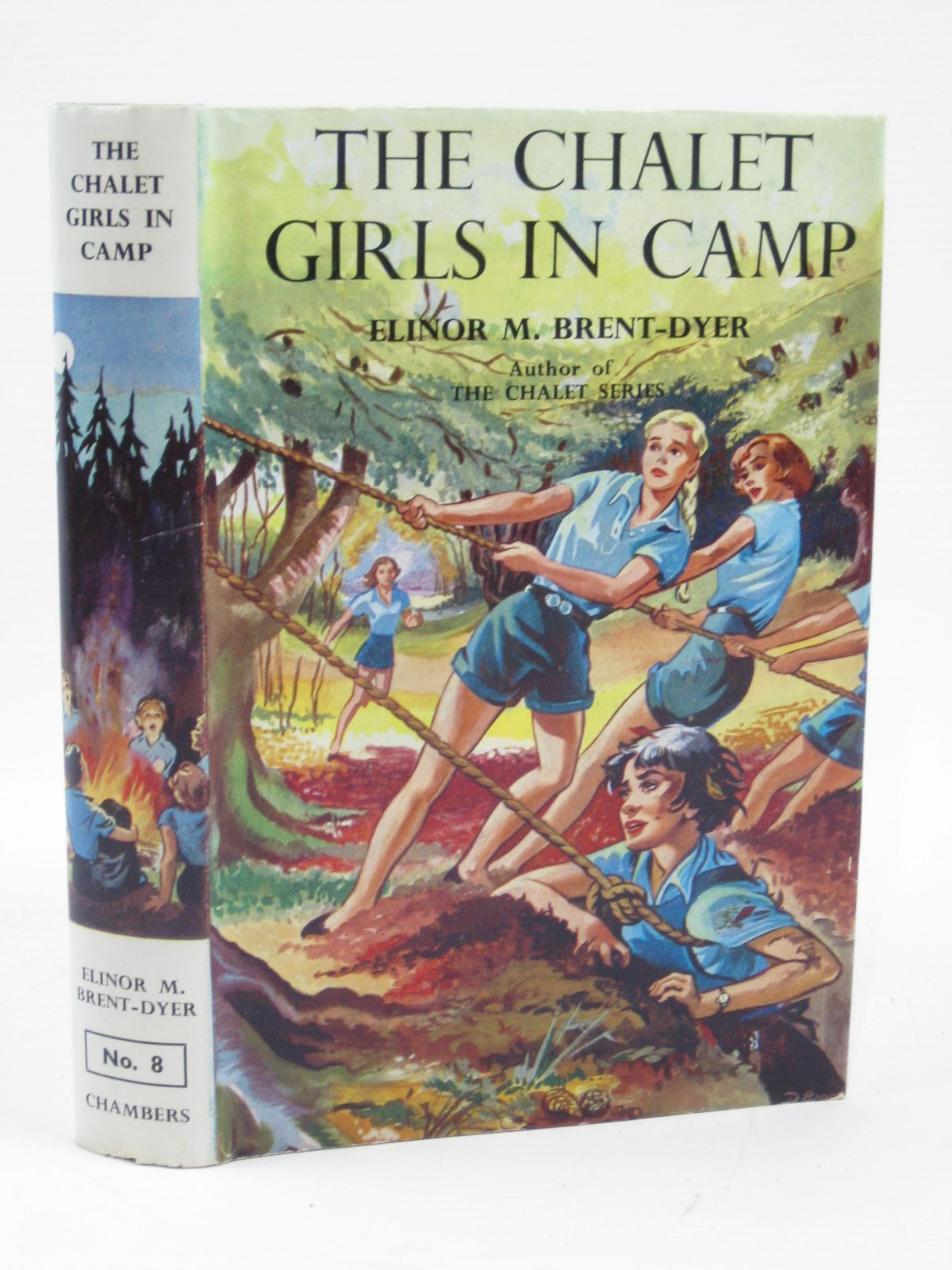 Photo of THE CHALET GIRLS IN CAMP- Stock Number: 1316371