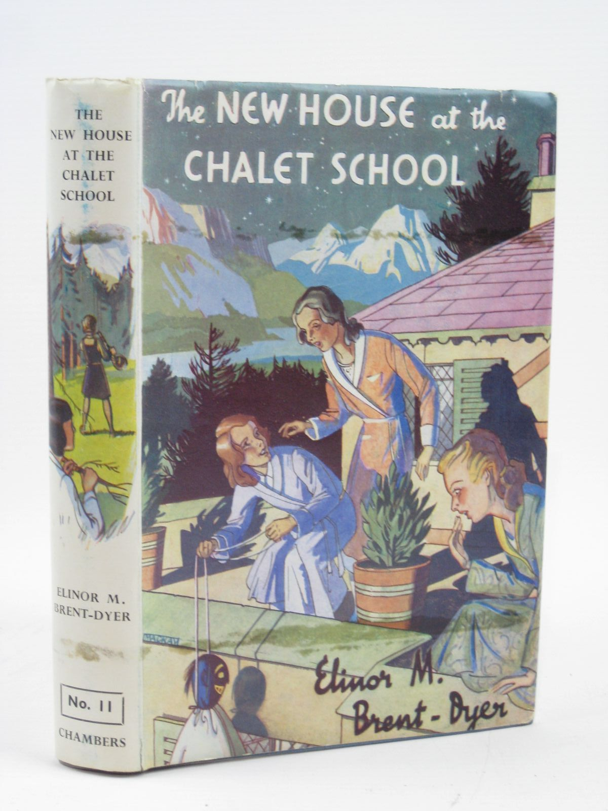 Photo of THE NEW HOUSE AT THE CHALET SCHOOL written by Brent-Dyer, Elinor M. published by W. & R. Chambers Limited (STOCK CODE: 1316380)  for sale by Stella & Rose's Books
