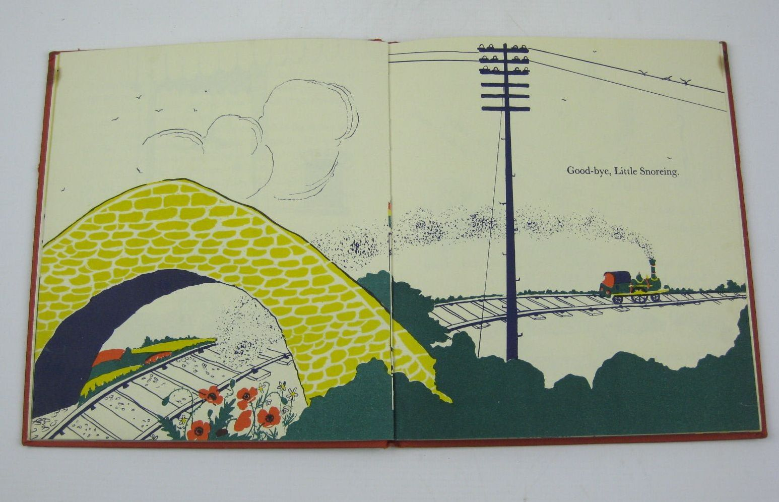 Photo of THE LITTLE TRAIN written by Greene, Graham illustrated by Craigie, Dorothy published by Max Parrish (STOCK CODE: 1316398)  for sale by Stella & Rose's Books