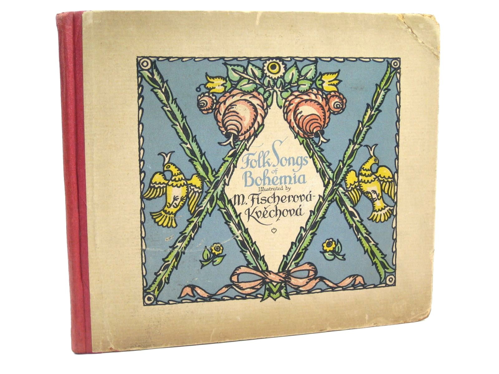 Photo of FOLK SONGS OF BOHEMIA written by Cooper, Dorothy illustrated by Fischerova-Kvechova, M. published by Raf. D. Szalatnay (STOCK CODE: 1316437)  for sale by Stella & Rose's Books