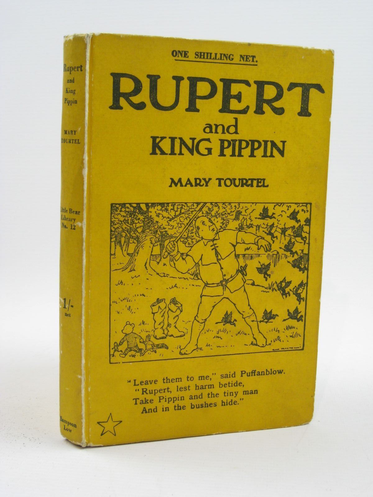 Photo of RUPERT AND KING PIPPIN - RUPERT LITTLE BEAR LIBRARY No. 12- Stock Number: 1316468