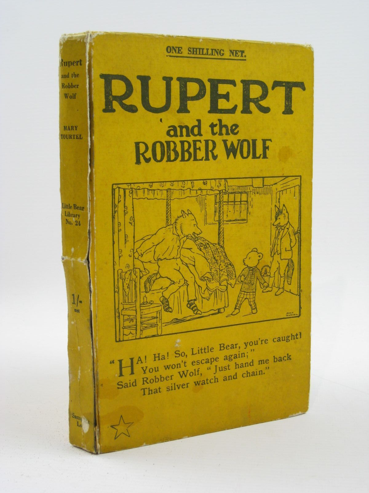 Photo of RUPERT AND THE ROBBER WOLF - RUPERT LITTLE BEAR LIBRARY No. 24- Stock Number: 1316470