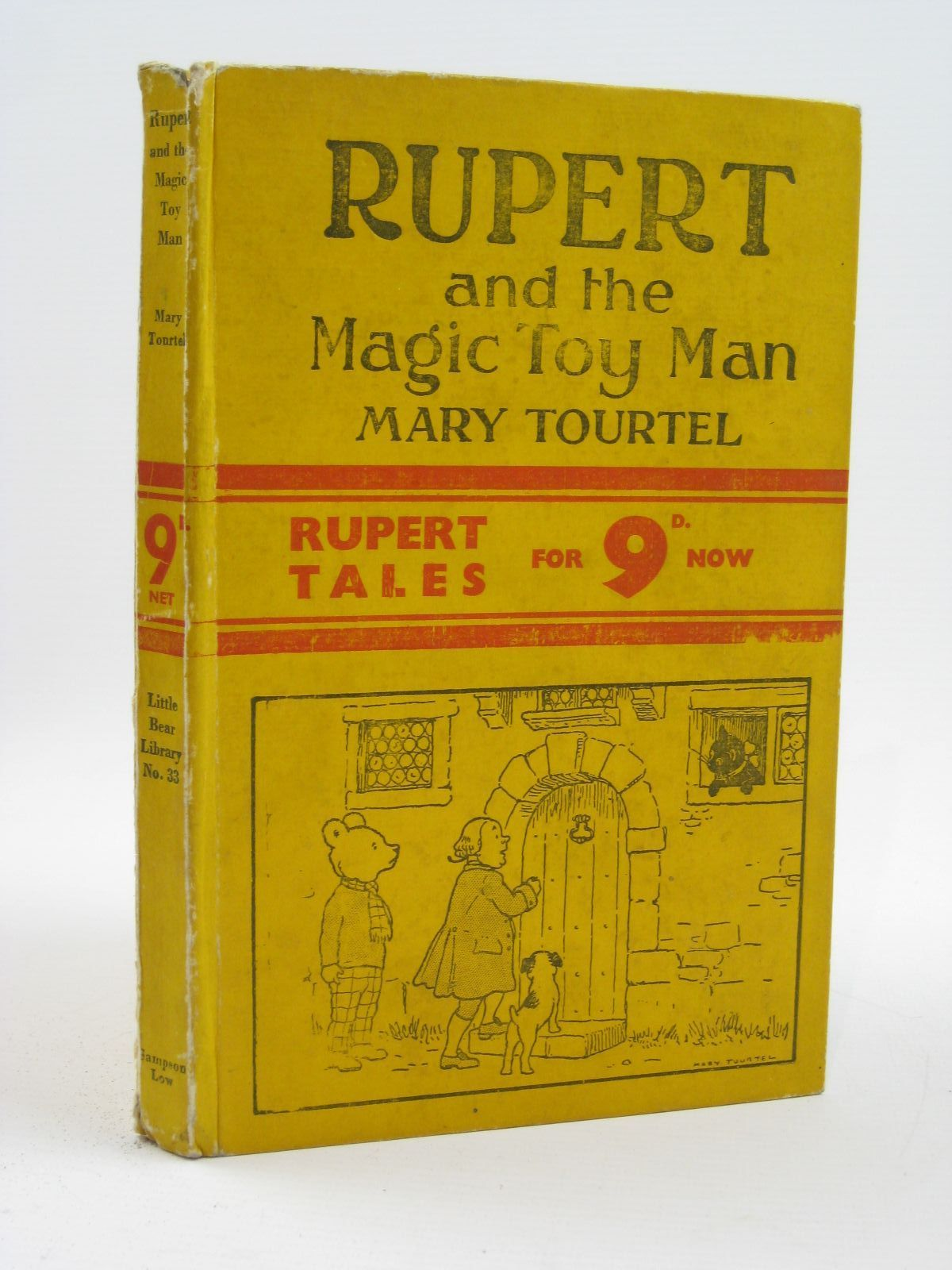 Photo of RUPERT AND THE MAGIC TOY MAN - RUPERT LITTLE BEAR LIBRARY NO. 33- Stock Number: 1316473
