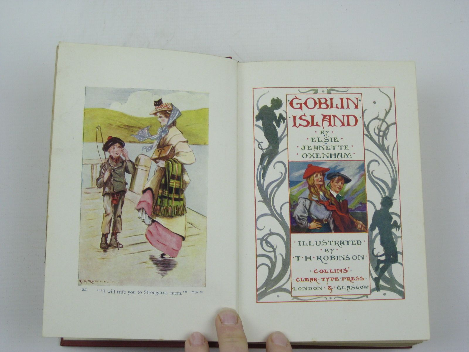 Photo of GOBLIN ISLAND written by Oxenham, Elsie J. illustrated by Robinson, T.H. Dixon, A.A. published by Collins Clear-Type Press (STOCK CODE: 1316476)  for sale by Stella & Rose's Books