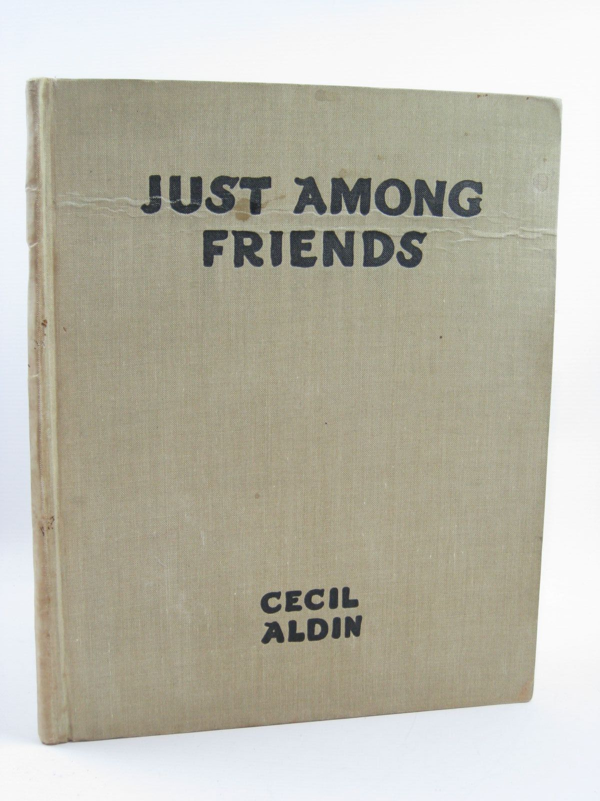 Photo of JUST AMONG FRIENDS written by Aldin, Cecil illustrated by Aldin, Cecil published by Eyre & Spottiswoode (STOCK CODE: 1316485)  for sale by Stella & Rose's Books