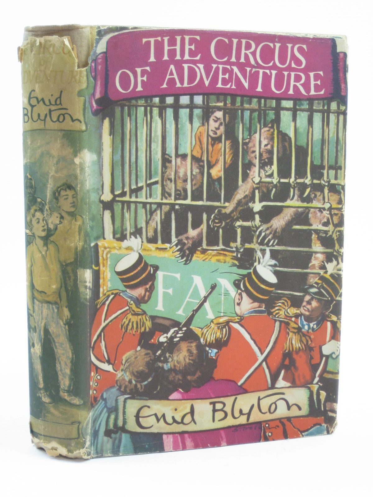 Photo of THE CIRCUS OF ADVENTURE written by Blyton, Enid illustrated by Tresilian, Stuart published by Macmillan & Co. Ltd. (STOCK CODE: 1316496)  for sale by Stella & Rose's Books