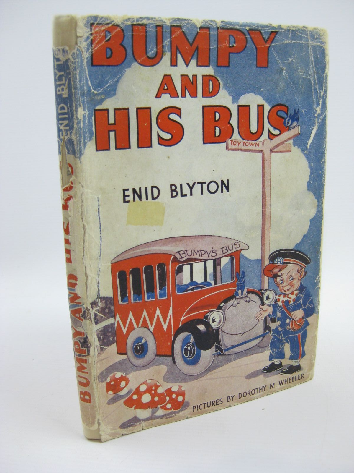 Photo of BUMPY AND HIS BUS written by Blyton, Enid illustrated by Wheeler, Dorothy published by George Newnes Limited (STOCK CODE: 1316517)  for sale by Stella & Rose's Books