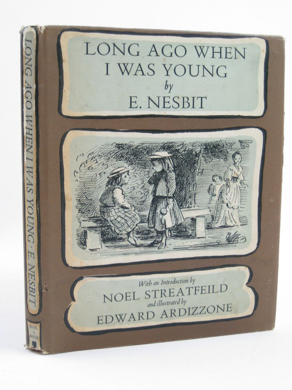 Photo of LONG AGO WHEN I WAS YOUNG written by Nesbit, E.<br />Streatfeild, Noel illustrated by Ardizzone, Edward published by Ronald Whiting &amp; Wheaton Ltd. (STOCK CODE: 1316710)  for sale by Stella & Rose's Books