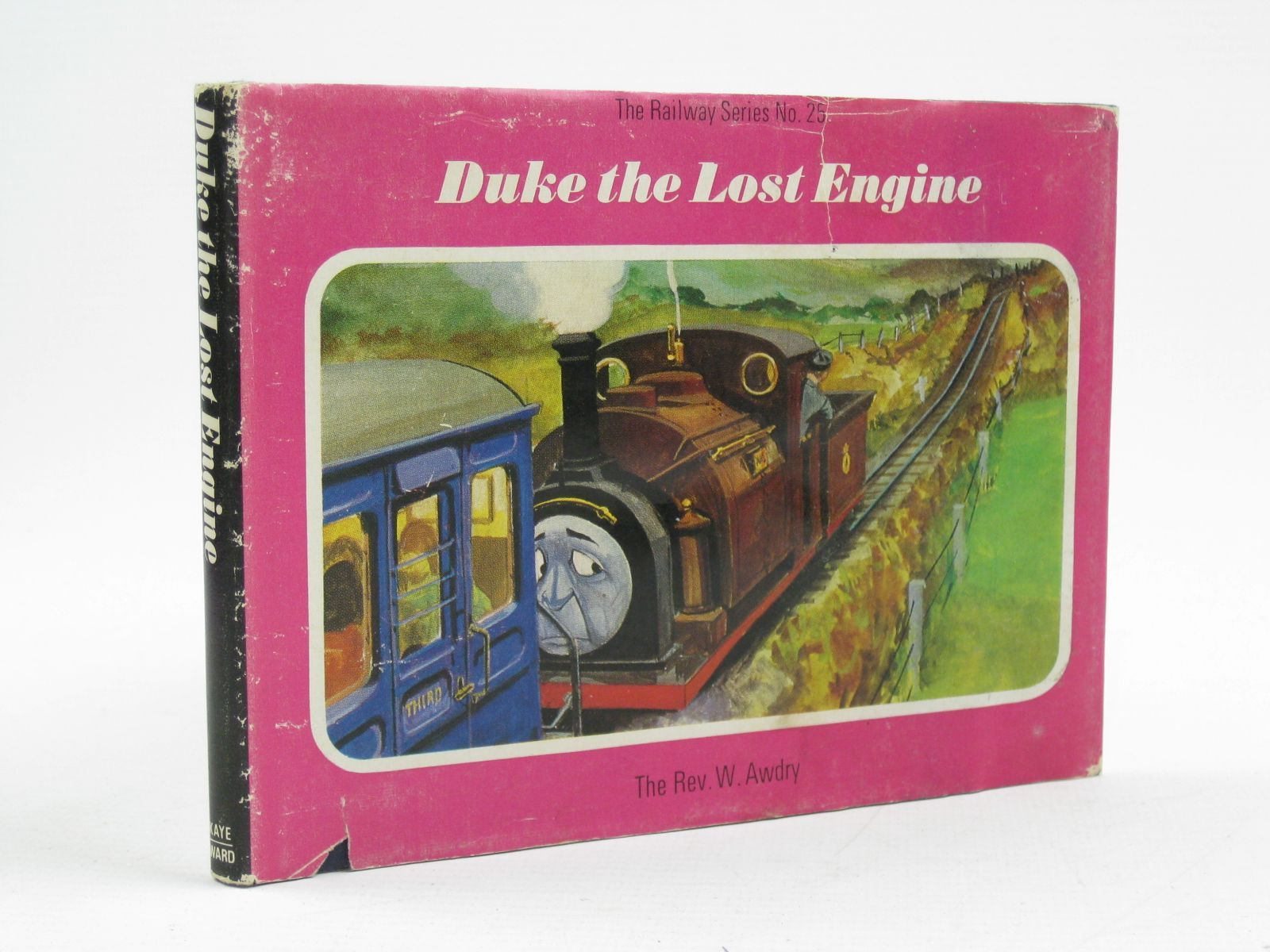 Photo of DUKE THE LOST ENGINE written by Awdry, Rev. W. illustrated by Edwards, Gunvor<br />Edwards, Peter published by Kaye &amp; Ward Ltd. (STOCK CODE: 1316742)  for sale by Stella & Rose's Books