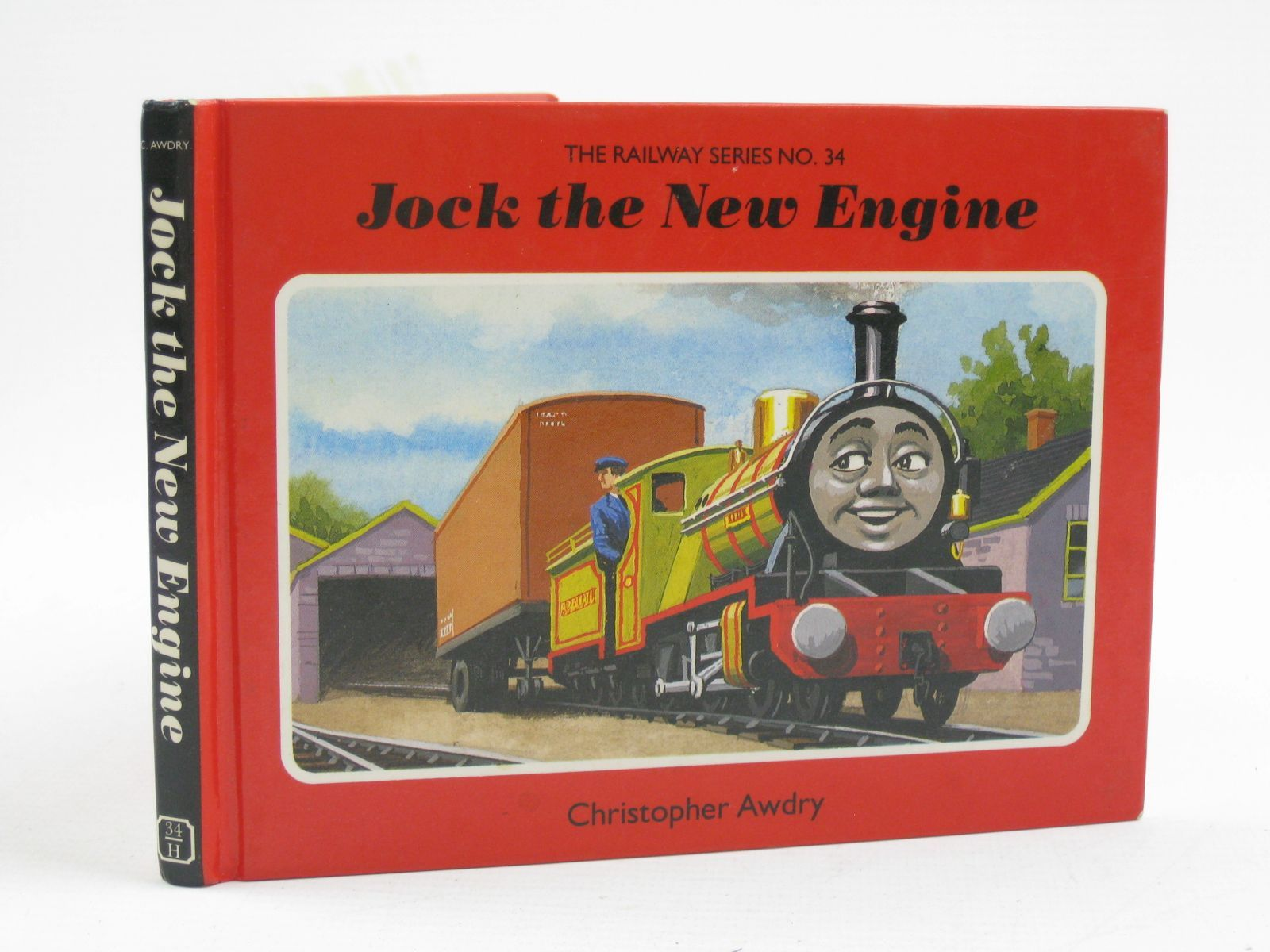 Photo of JOCK THE NEW ENGINE written by Awdry, Christopher illustrated by Spong, Clive published by Heinemann (STOCK CODE: 1316752)  for sale by Stella & Rose's Books