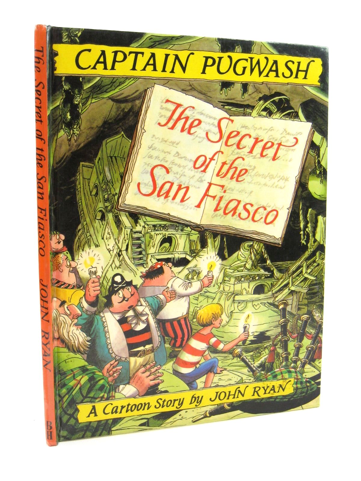Photo of CAPTAIN PUGWASH - THE SECRET OF THE SAN FIASCO written by Ryan, John illustrated by Ryan, John published by The Bodley Head Ltd (STOCK CODE: 1316785)  for sale by Stella & Rose's Books