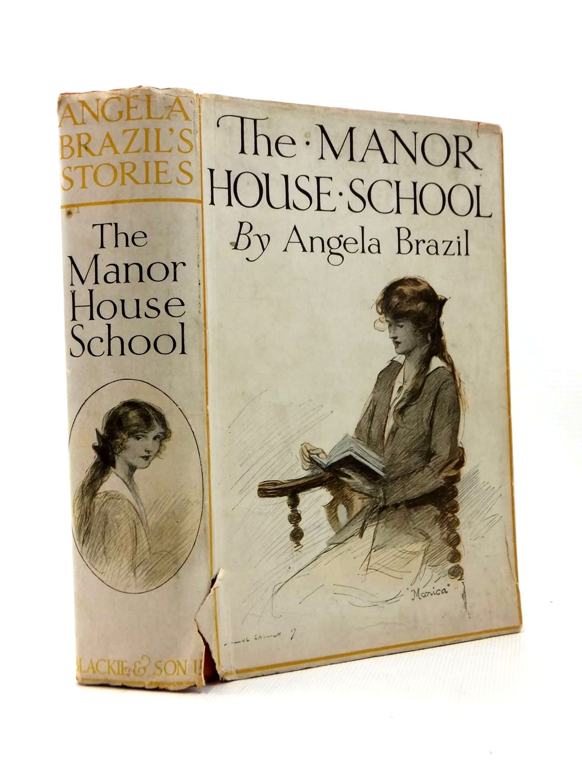 Photo of THE MANOR HOUSE SCHOOL written by Brazil, Angela illustrated by Dixon, A.A. published by Blackie & Son Ltd. (STOCK CODE: 1316839)  for sale by Stella & Rose's Books